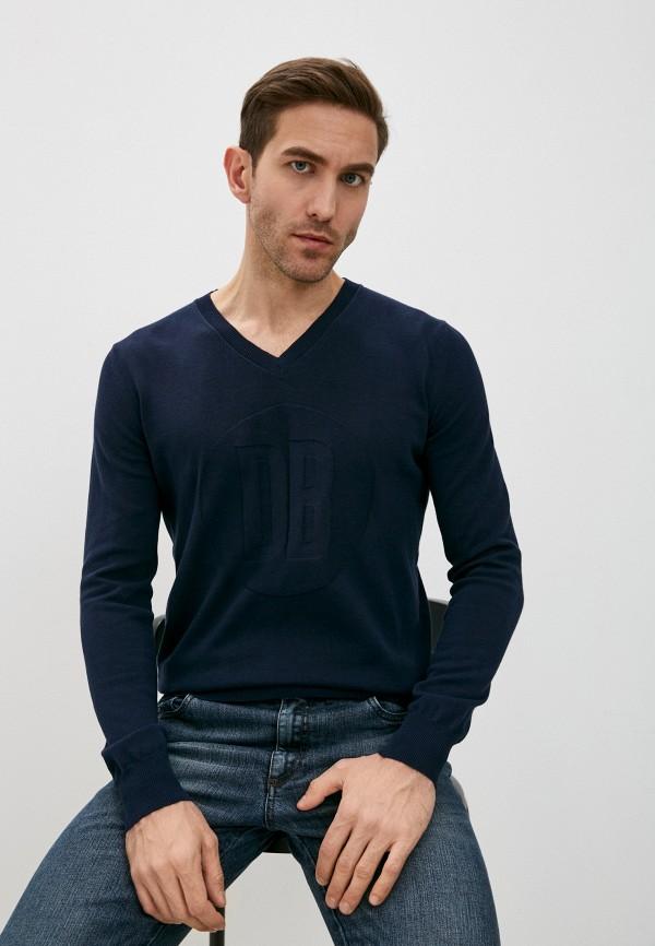мужской пуловер bikkembergs, синий