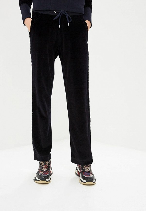 женские спортивные спортивные брюки bikkembergs, синие