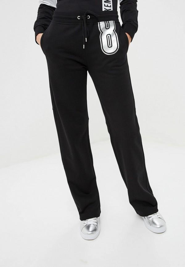 женские спортивные спортивные брюки bikkembergs, черные