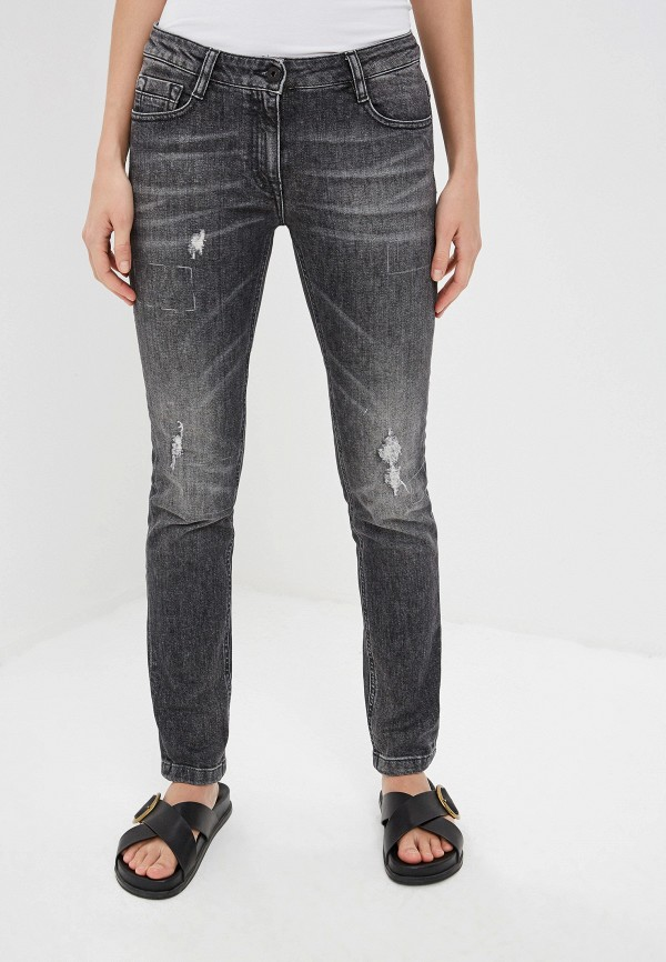 женские джинсы bikkembergs, серые