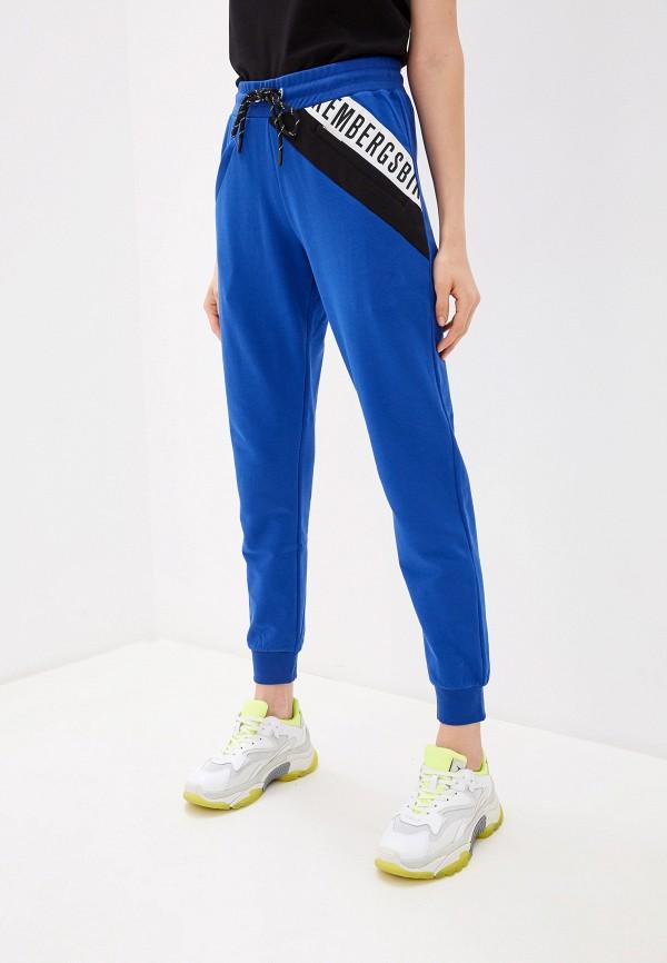 женские спортивные брюки bikkembergs, синие