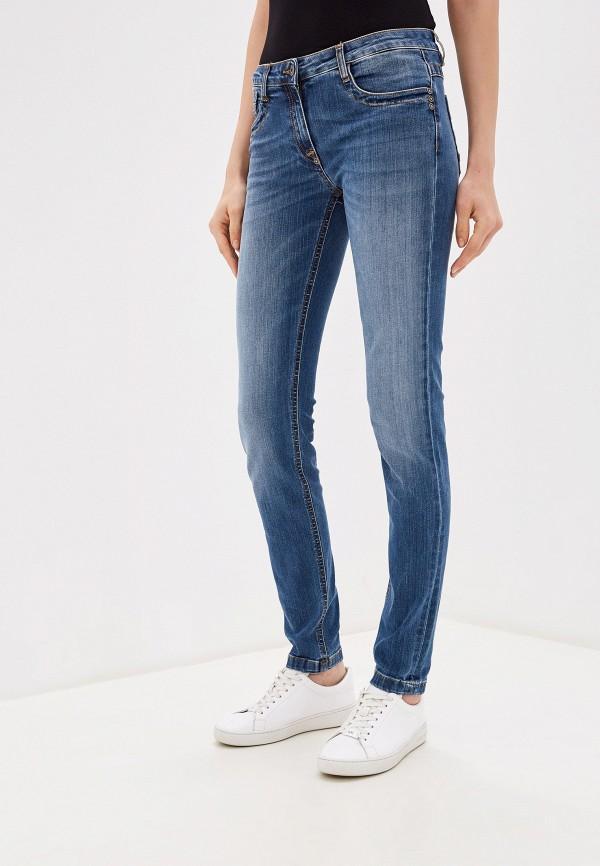 женские джинсы bikkembergs, голубые