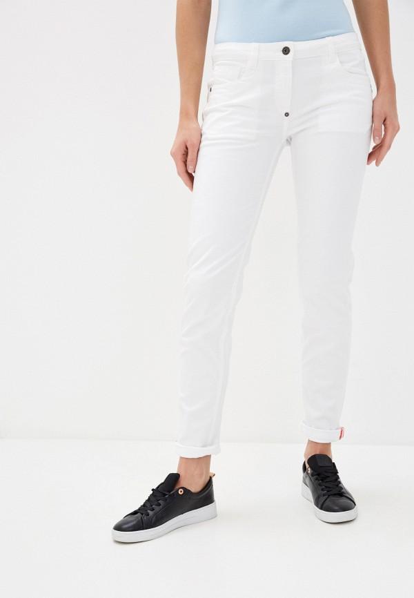 женские повседневные брюки bikkembergs, белые