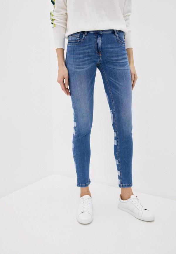 женские джинсы bikkembergs, синие