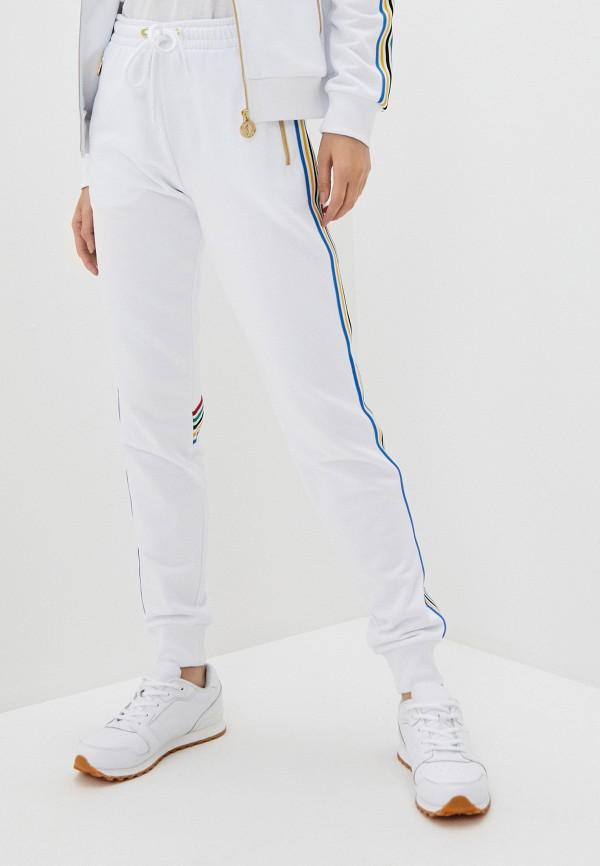 женские спортивные брюки bikkembergs, белые