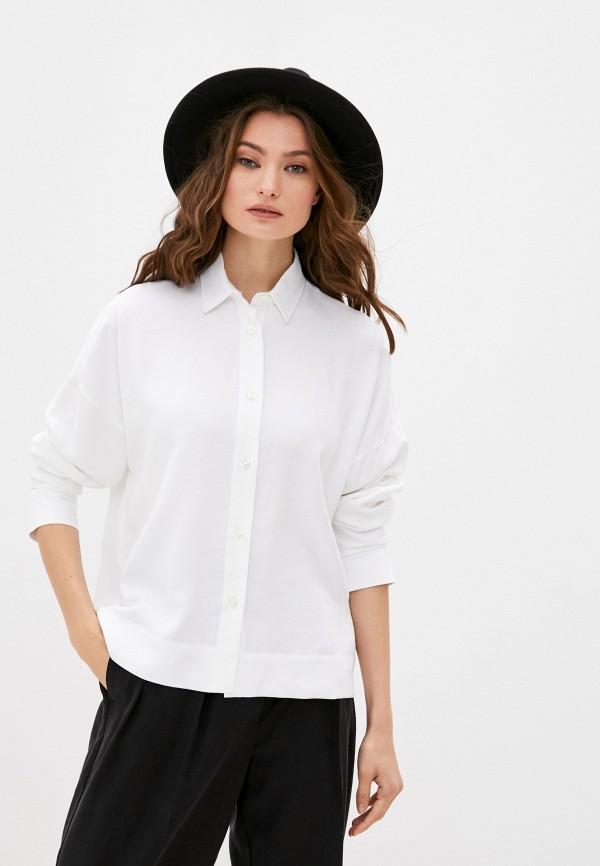 женская блузка bikkembergs, белая