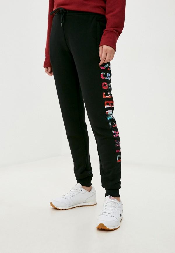 женские спортивные брюки bikkembergs, черные