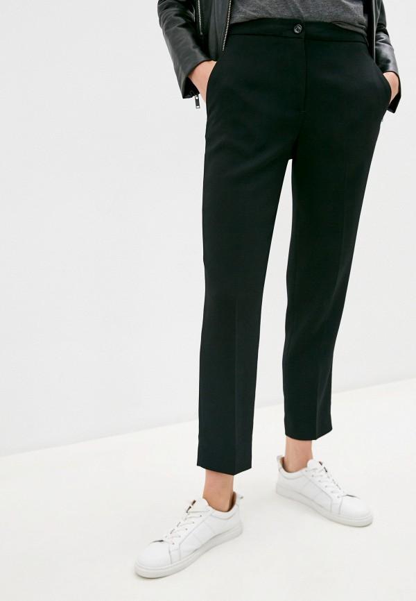 женские классические брюки bikkembergs, черные