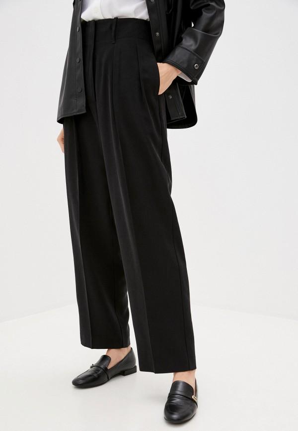 женские повседневные брюки bikkembergs, черные