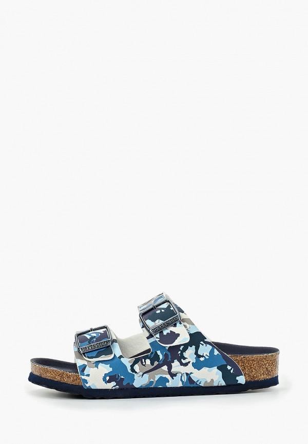 сандалии birkenstock для мальчика, синие