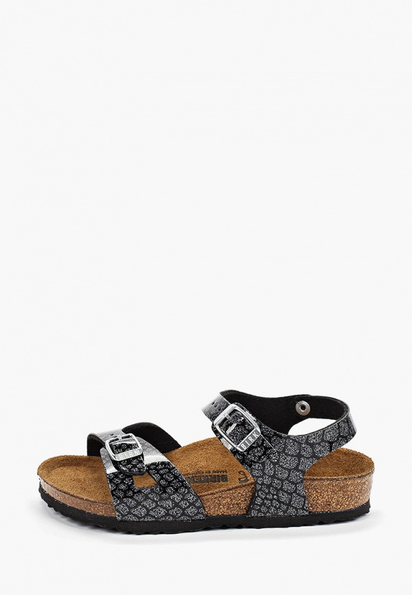 сандалии birkenstock для девочки, черные