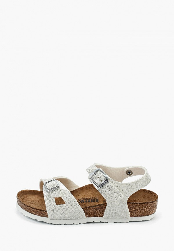 сандалии birkenstock для девочки, белые
