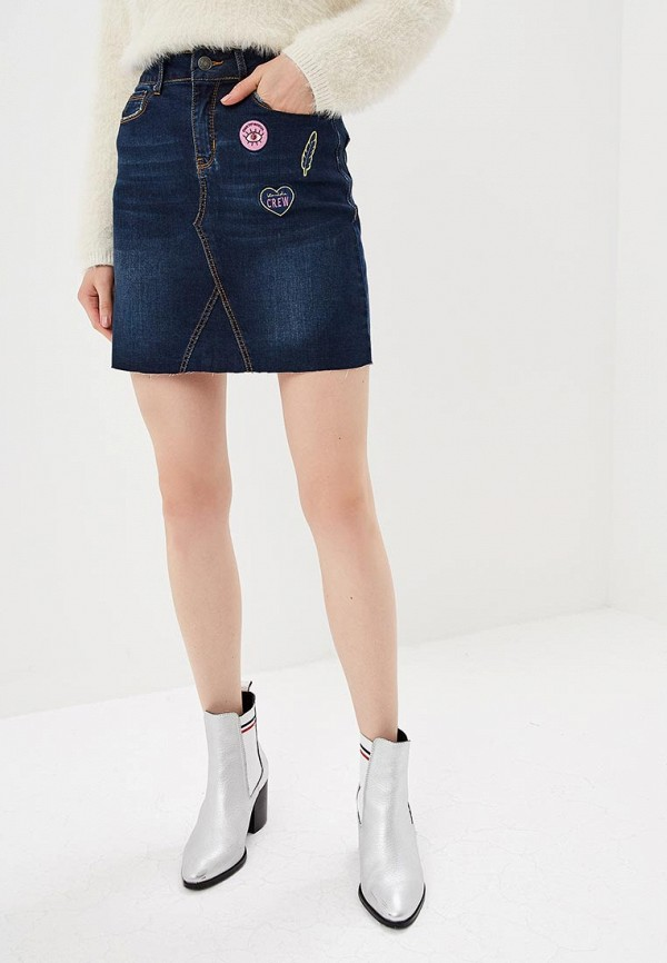 цена на Юбка джинсовая BlendShe BlendShe BL021EWBYZE7