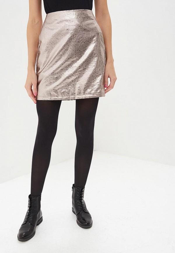 женская юбка blendshe, серебряная