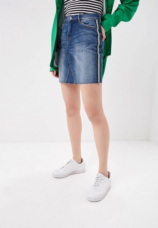 Юбка джинсовая BlendShe BlendShe BL021EWEELV5 брюки blendshe blendshe bl021ewbyzc8