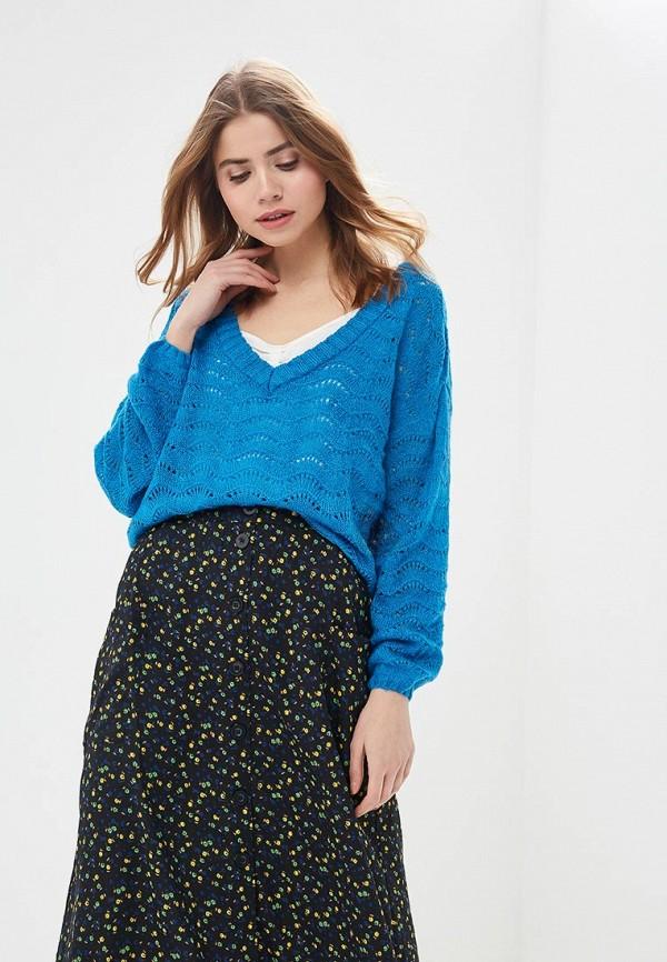 женский пуловер blendshe, голубой
