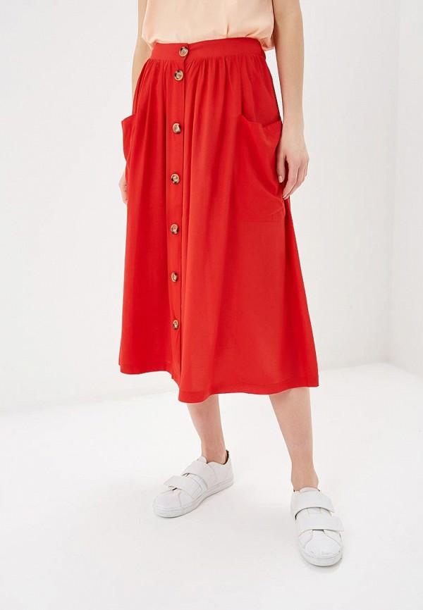 женская юбка blendshe, красная