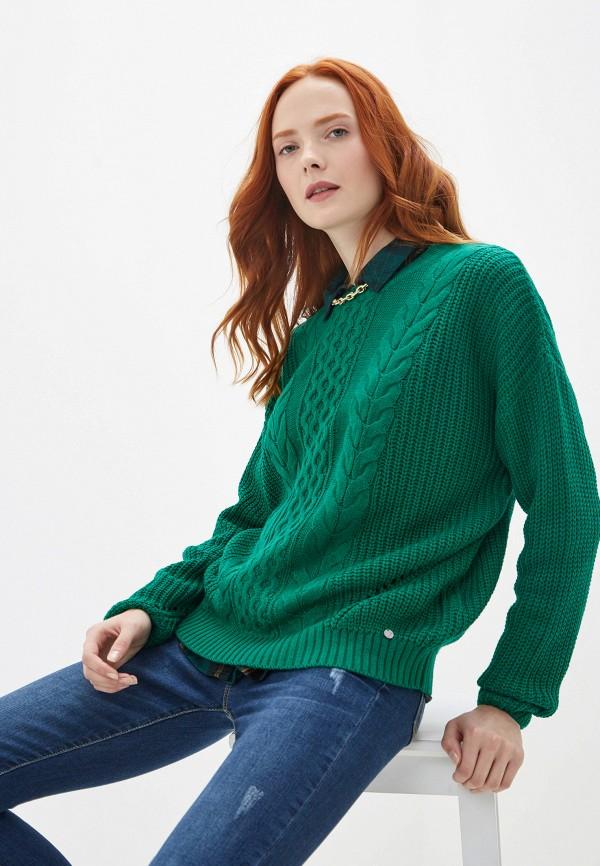 женский джемпер blendshe, зеленый
