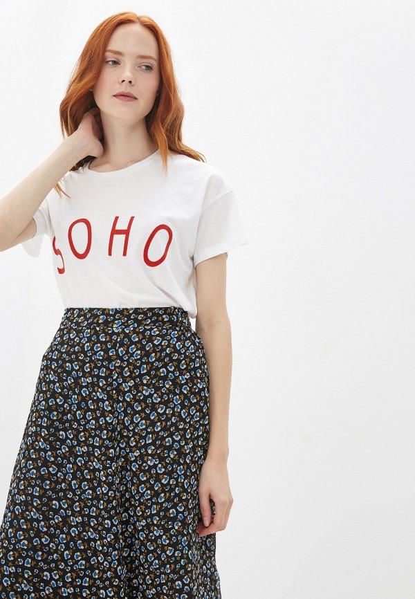 женская футболка blendshe, белая