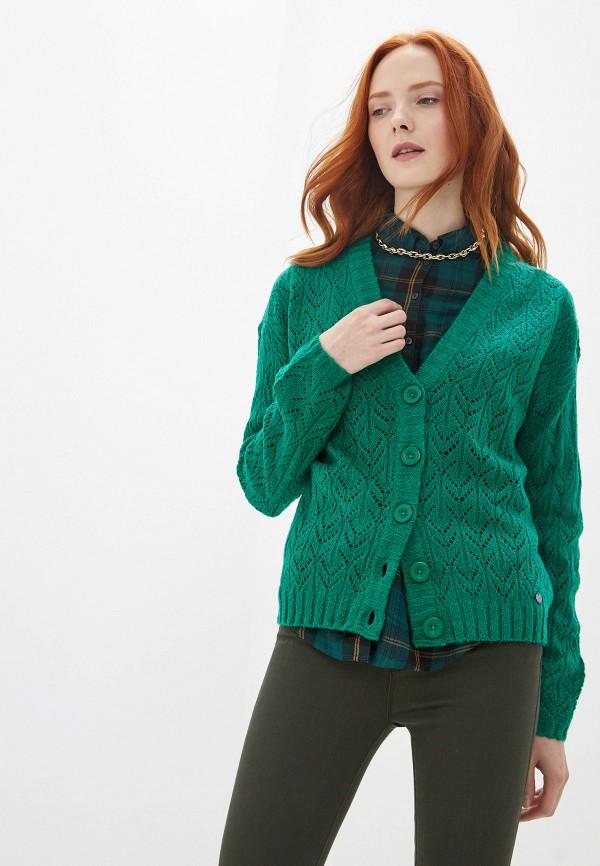 женский кардиган blendshe, зеленый