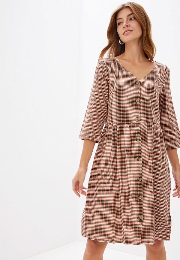 Купить Женское платье BlendShe бежевого цвета