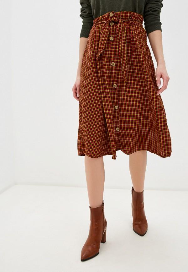 женская юбка blendshe, разноцветная