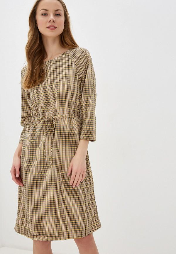 женское повседневные платье blendshe, бежевое
