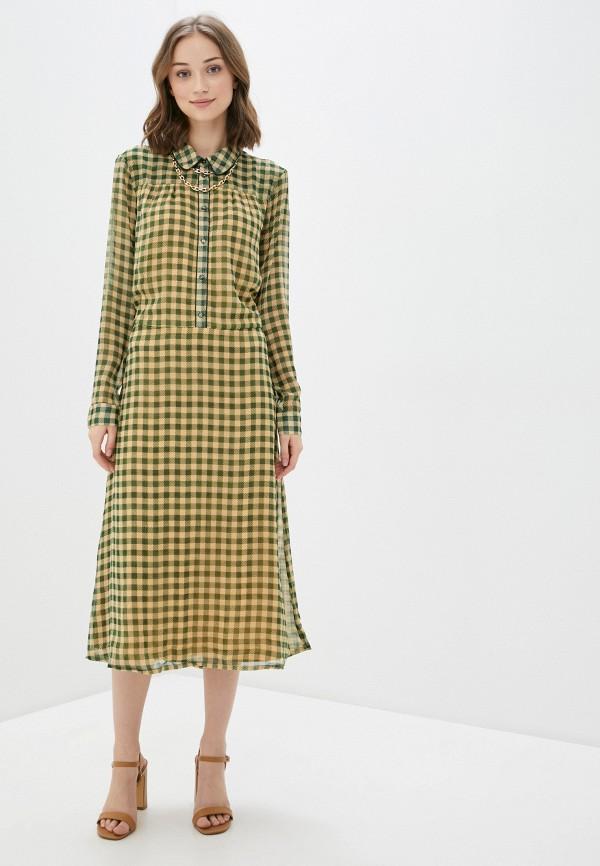 женское повседневные платье blendshe, зеленое