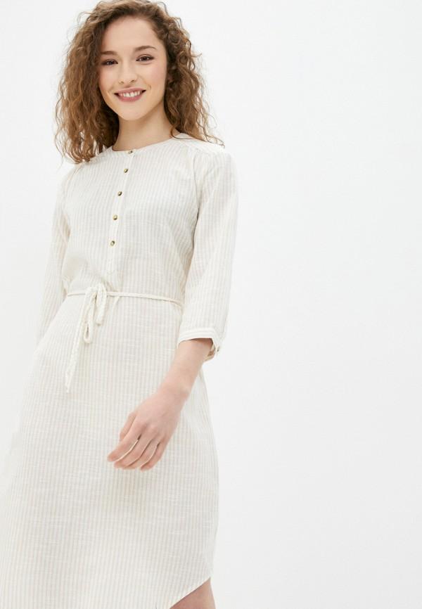 женское повседневные платье blendshe, белое