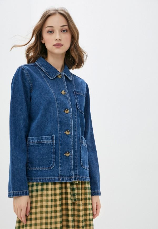 женская джинсовые куртка blendshe, синяя