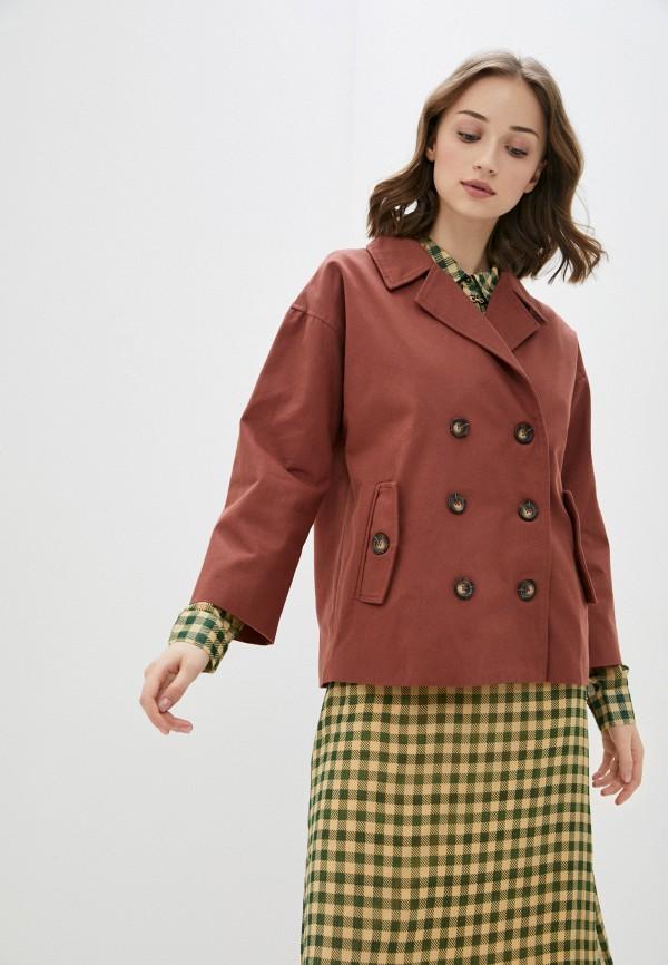 женская куртка blendshe, коричневая