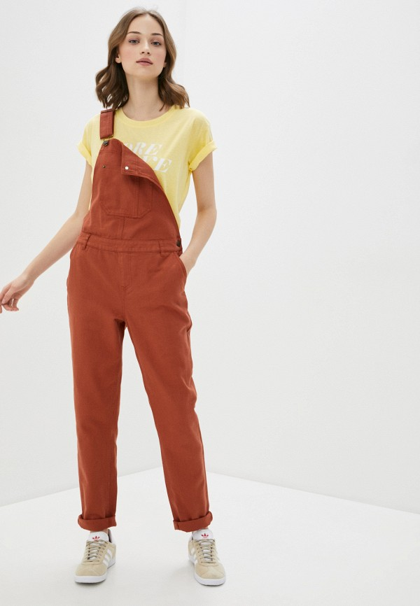женский джинсовые комбинезон blendshe, коричневый