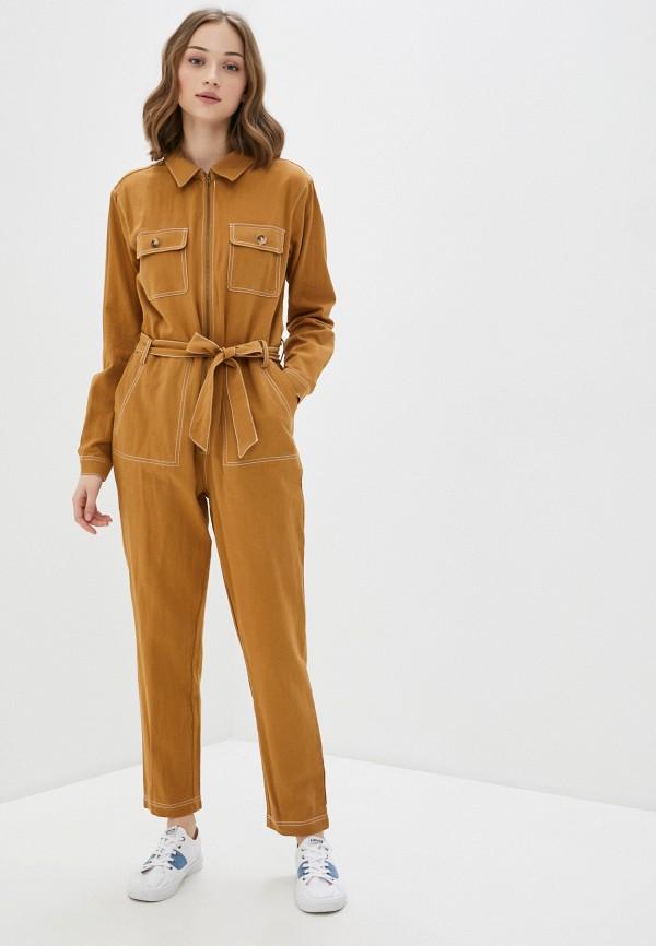 женский комбинезон blendshe, коричневый