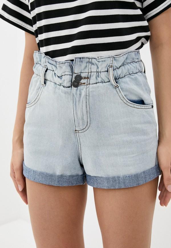 женские джинсовые шорты blendshe, голубые