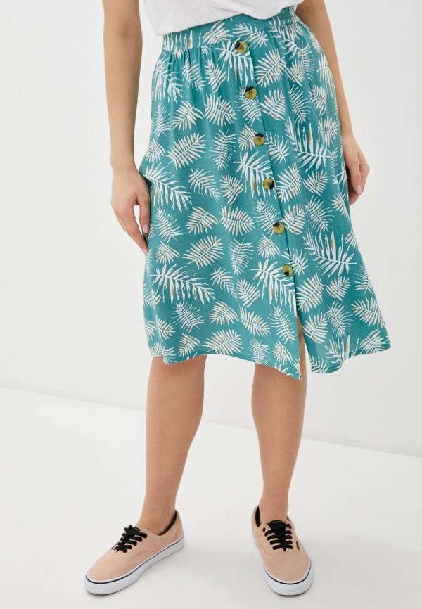 женская юбка blendshe, голубая