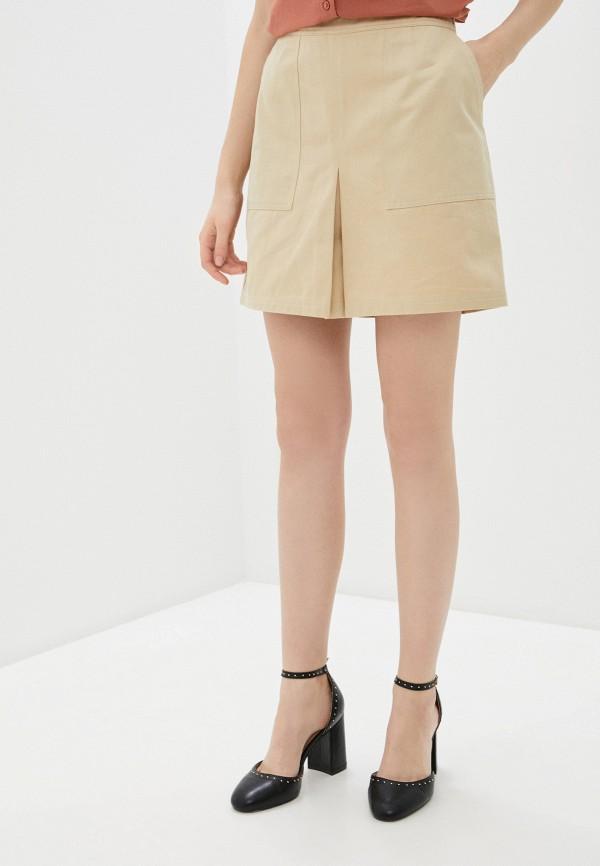 женская юбка blendshe, бежевая