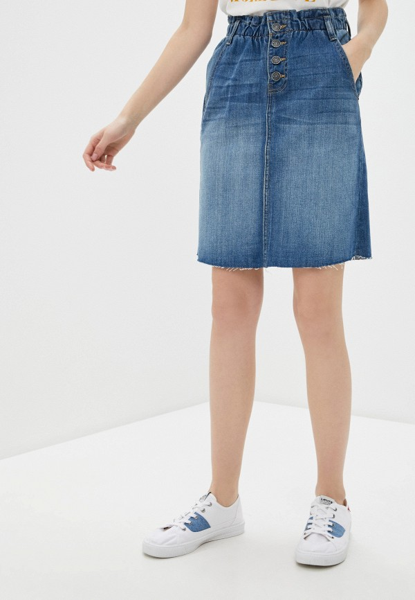женская джинсовые юбка blendshe, синяя