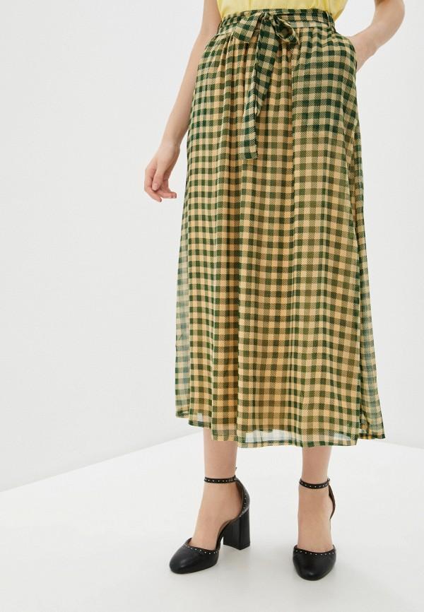 женская юбка blendshe, зеленая