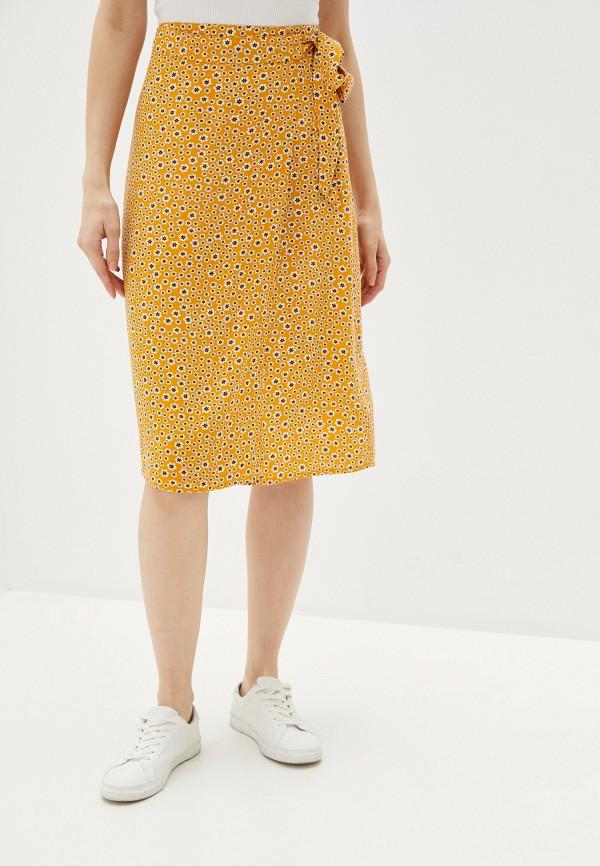 женская юбка blendshe, желтая