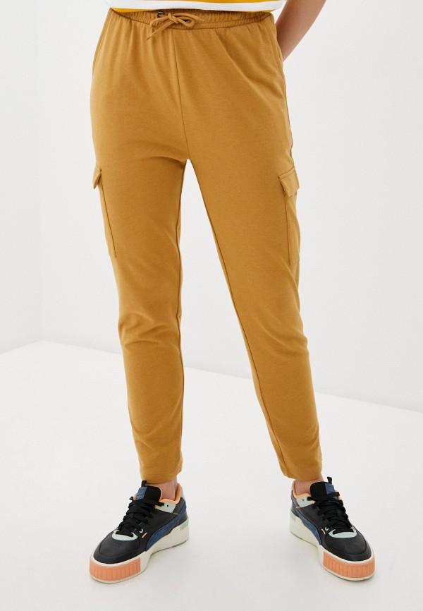 женские повседневные брюки blendshe, желтые