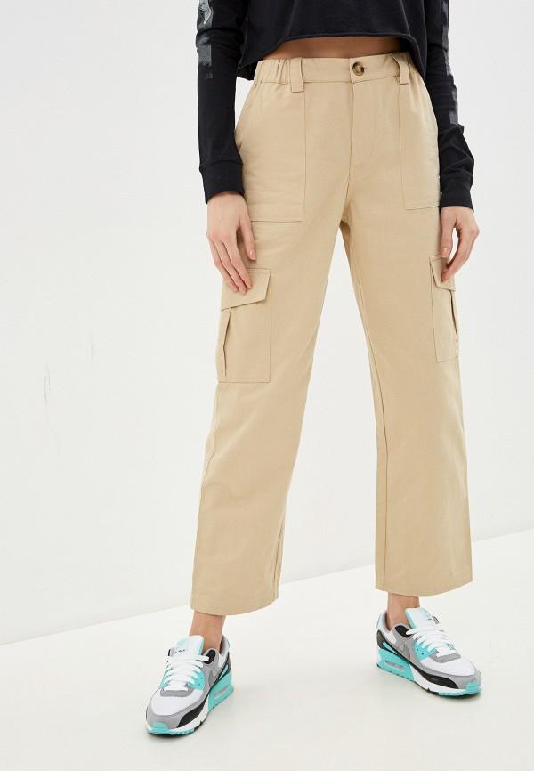 женские брюки blendshe, бежевые