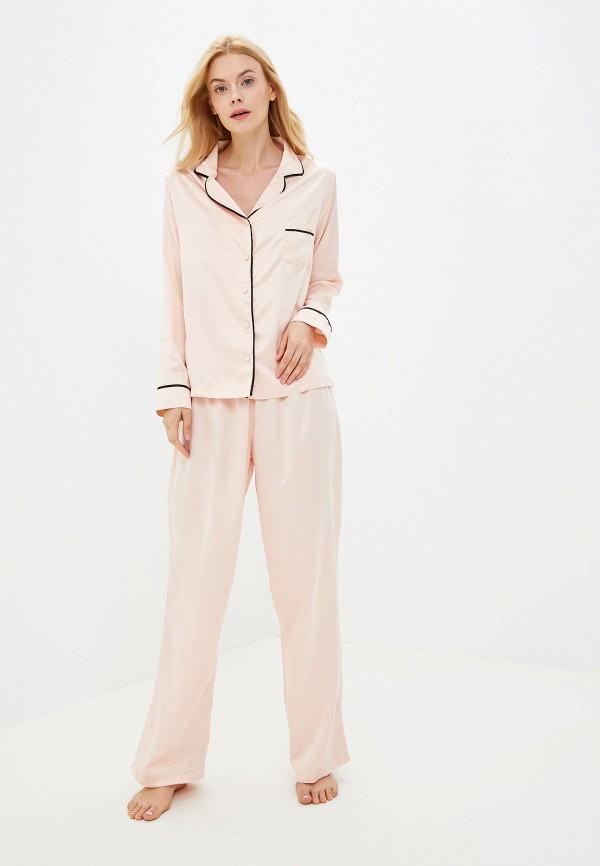Фото - женский халат или пижаму Bluebella розового цвета