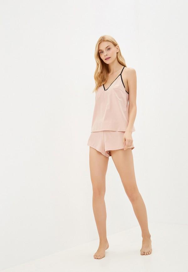 Фото 2 - женский халат или пижаму Bluebella розового цвета
