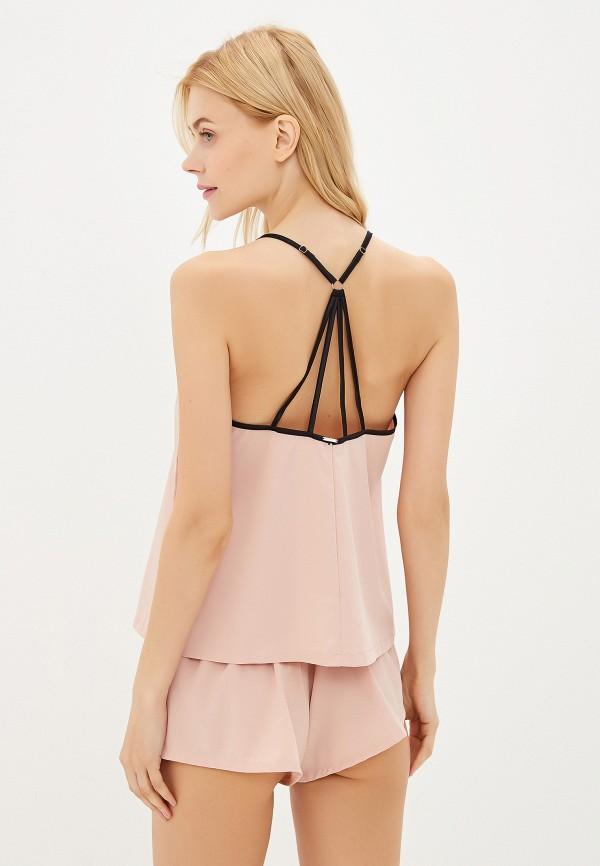 Фото 3 - женский халат или пижаму Bluebella розового цвета