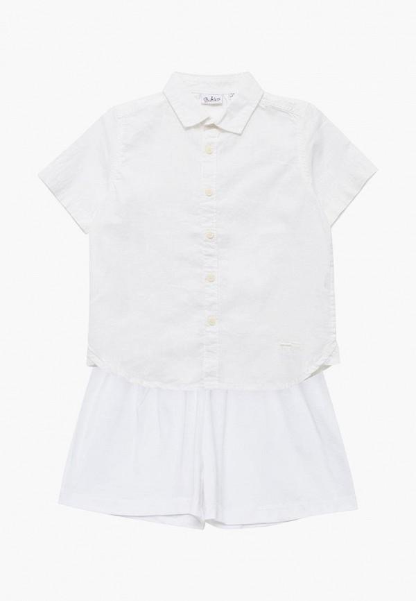 Купить Рубашка Blukids, BL025EBAYOI6, белый, Весна-лето 2018