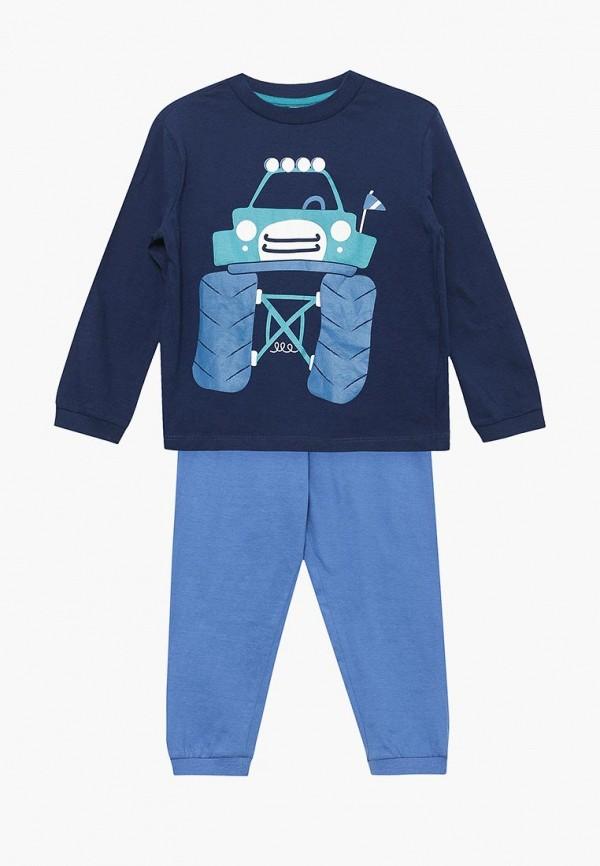 Купить Пижама Blukids синего цвета