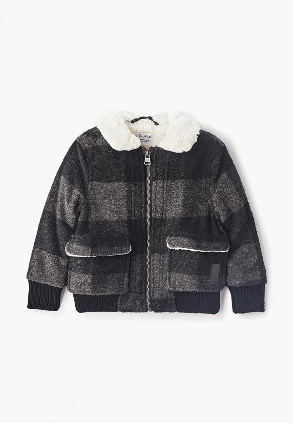 куртка blukids для мальчика, серая