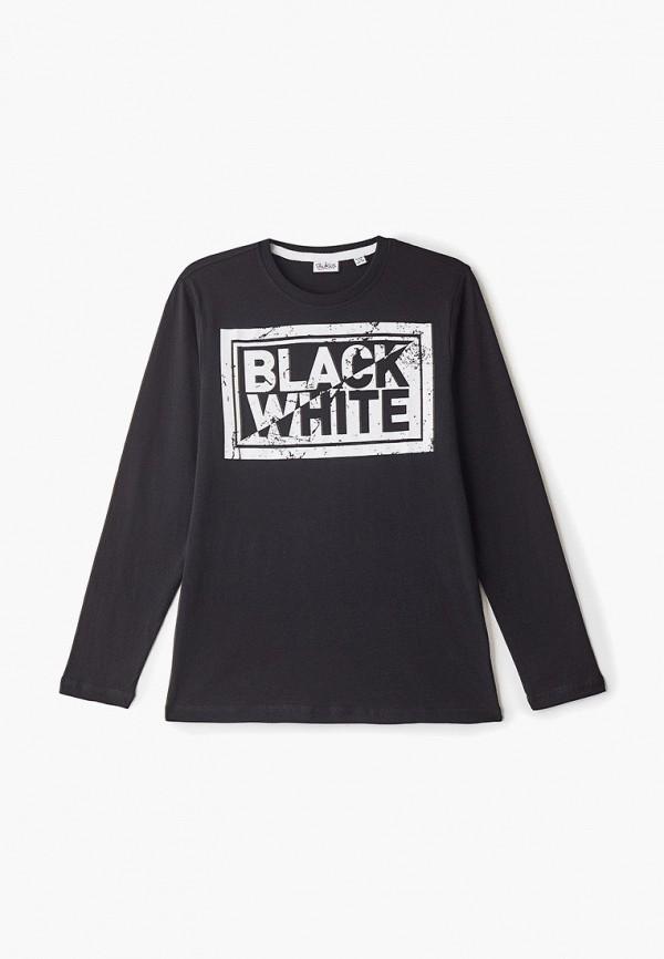 лонгслив blukids для мальчика, черный
