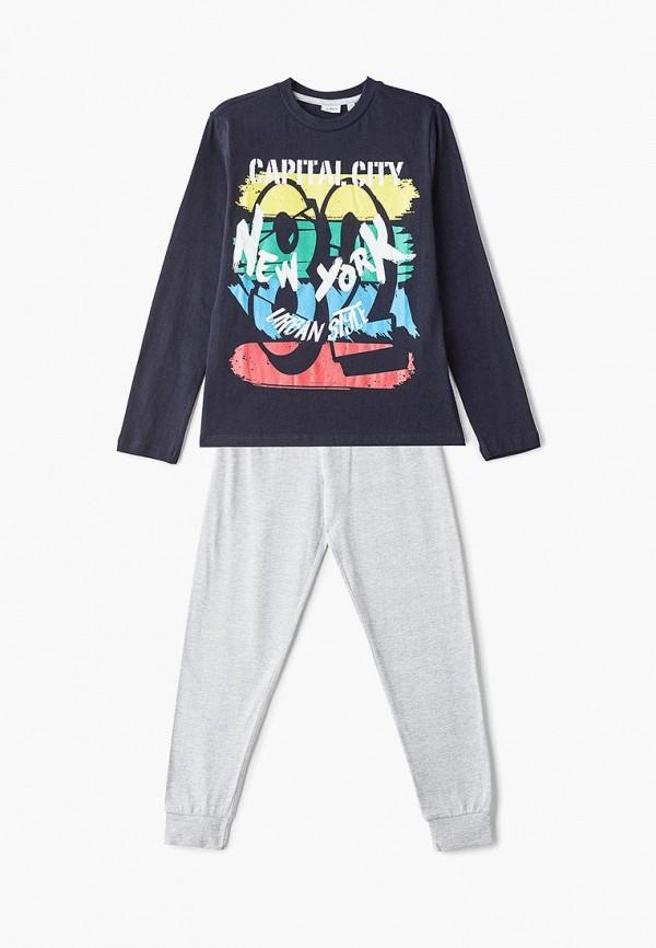 пижама blukids для мальчика, разноцветная