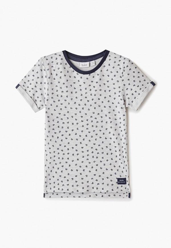 футболка с коротким рукавом blukids для мальчика, серая